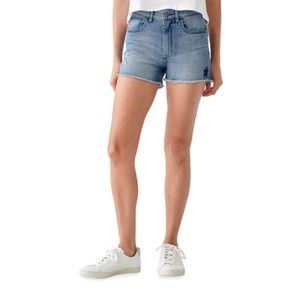 DL1961 Cecilia High-Rise Shorts with Stars NWT